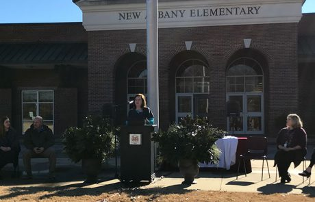 Project Director Tammie Reeder discusses the strategic goals of the School Garden Grant Project